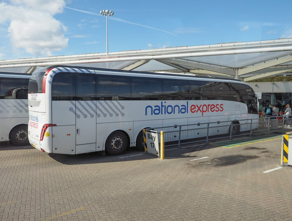 National Express Bus from Stansted