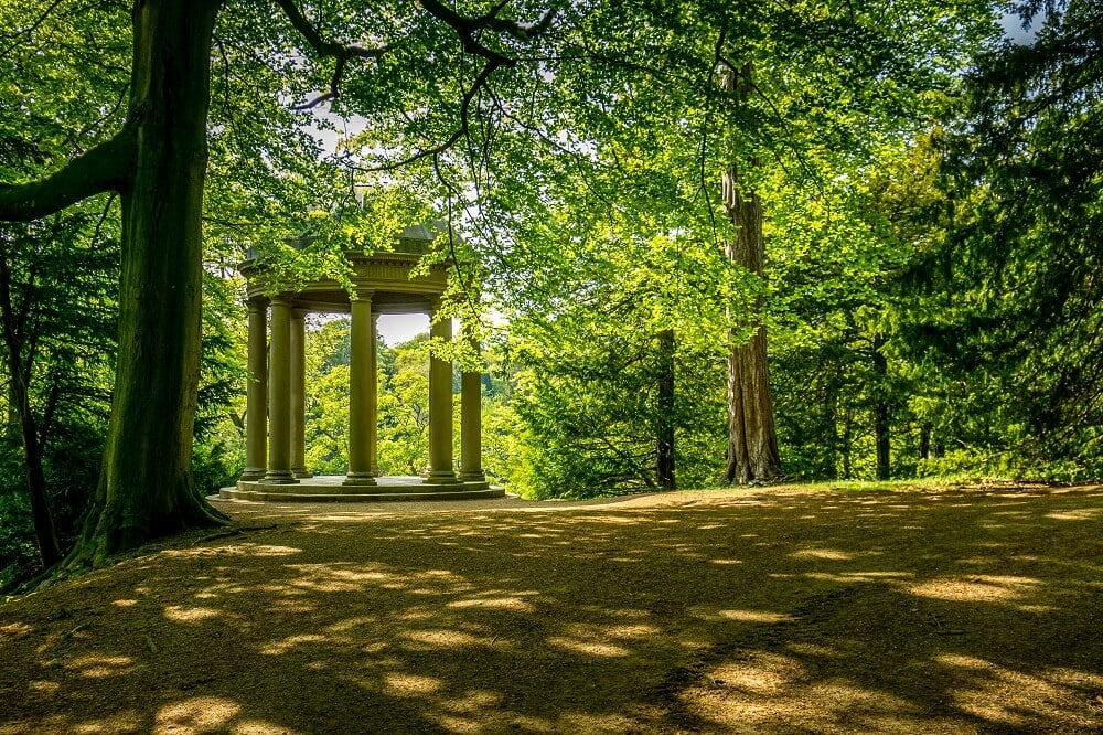 Temple of Fame at Studley Royal