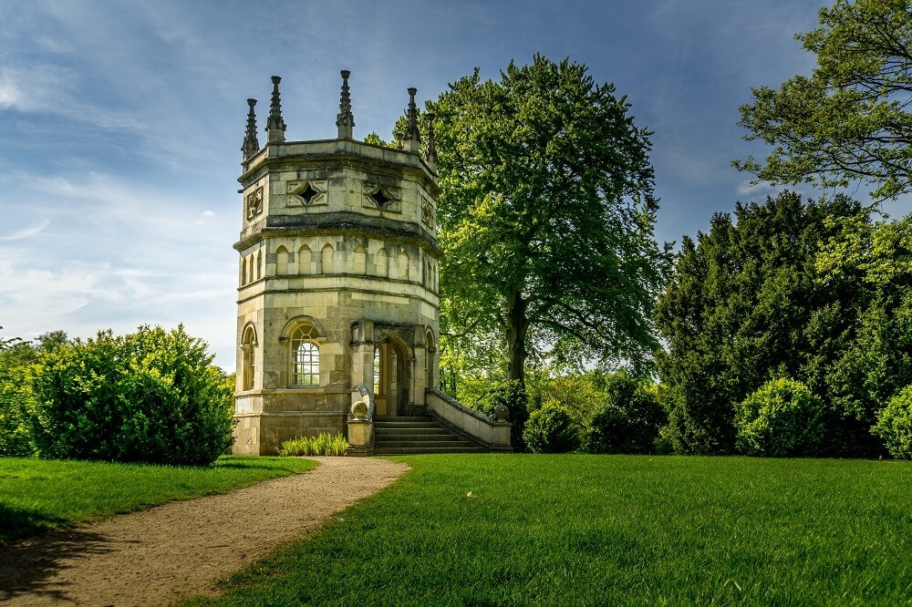 Octagon Tower at Studley Royal Gardens
