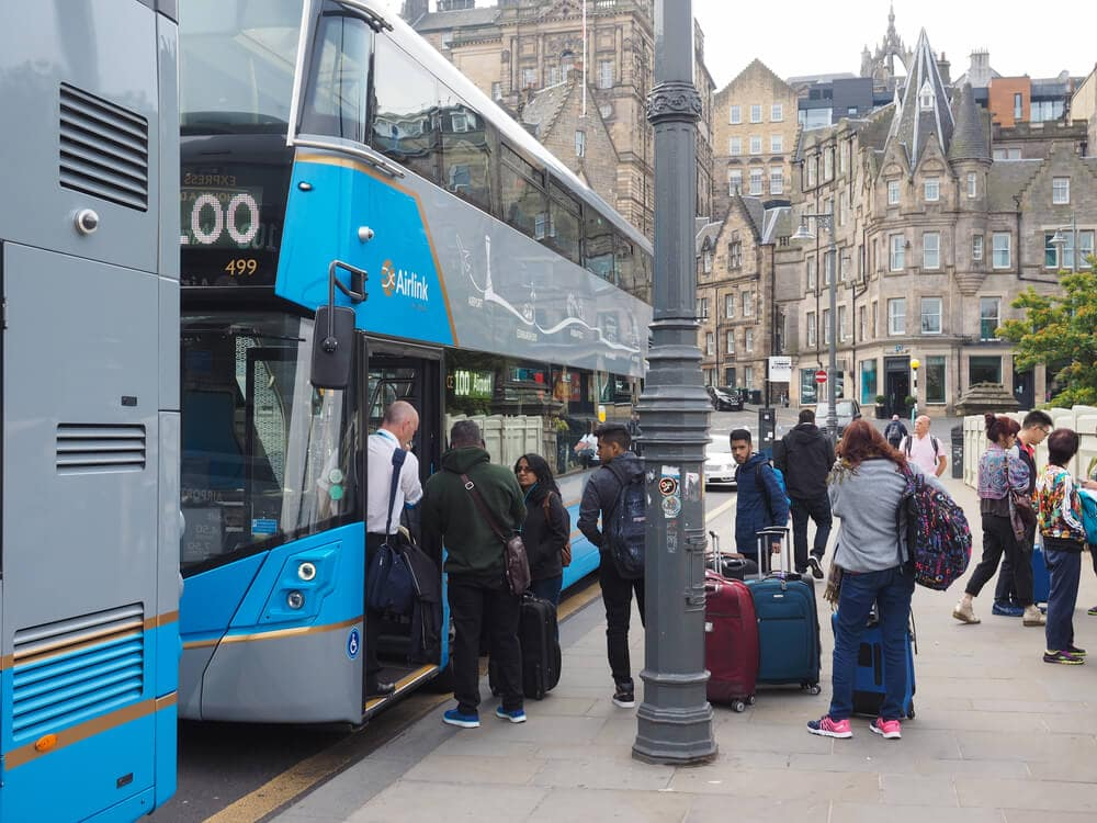 Edinburgh Airlink Bus