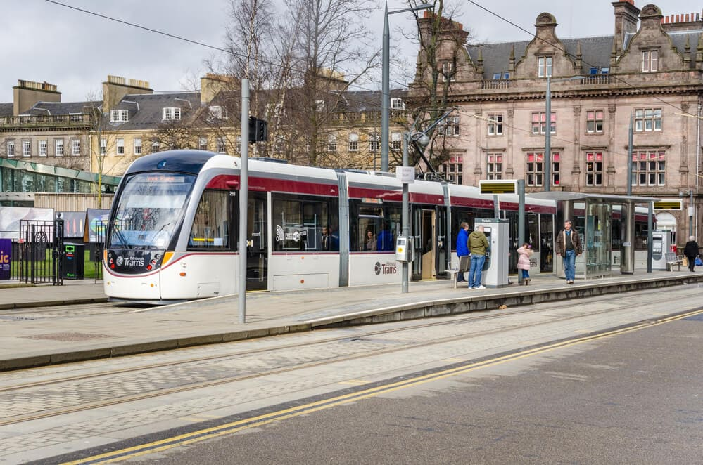 Edinburgh Airport Tram