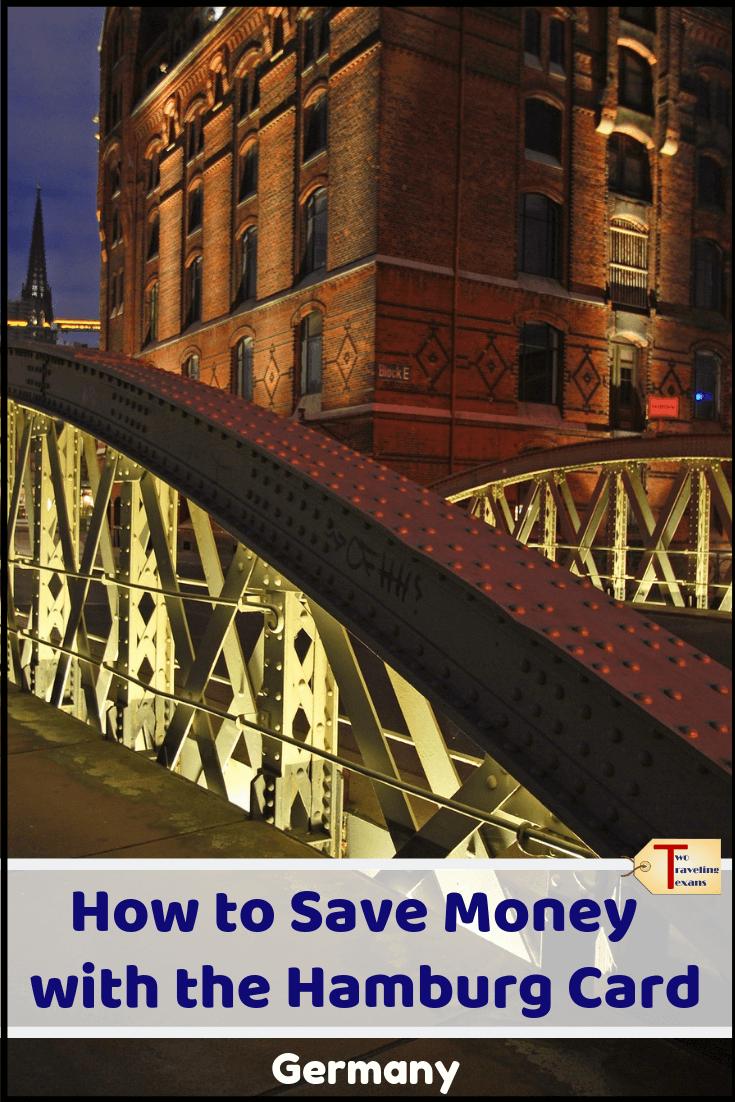 bridge in Hamburg Germany with text overlay