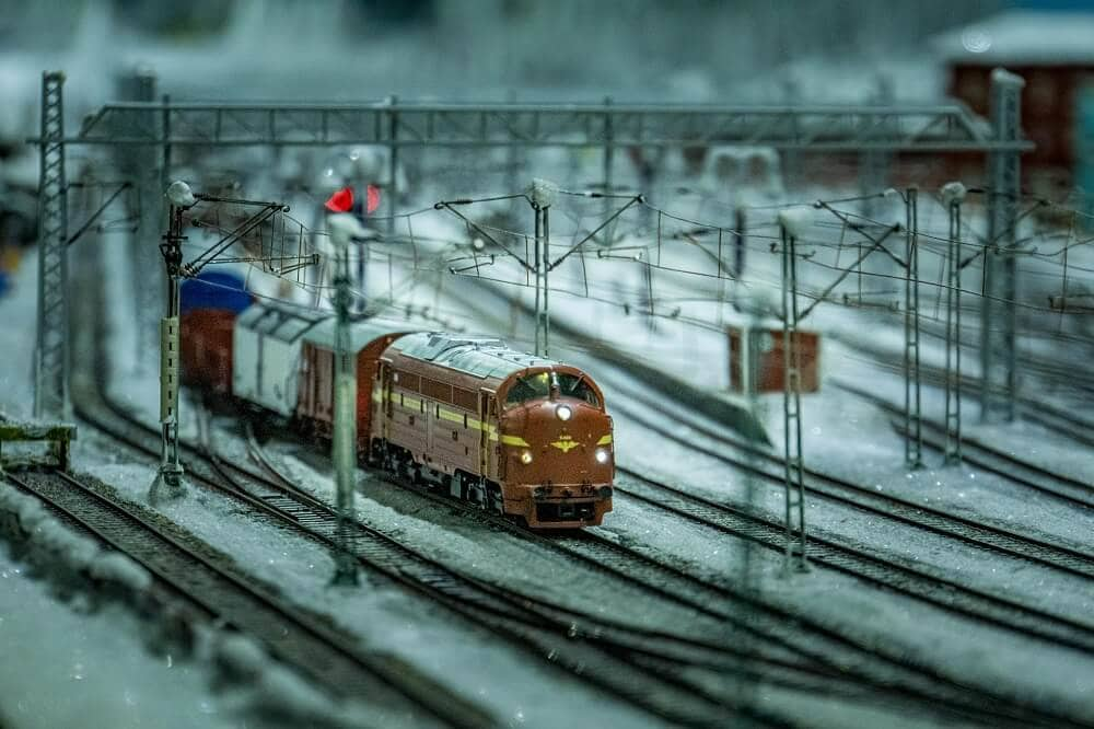 train at Miniatur Wunderland