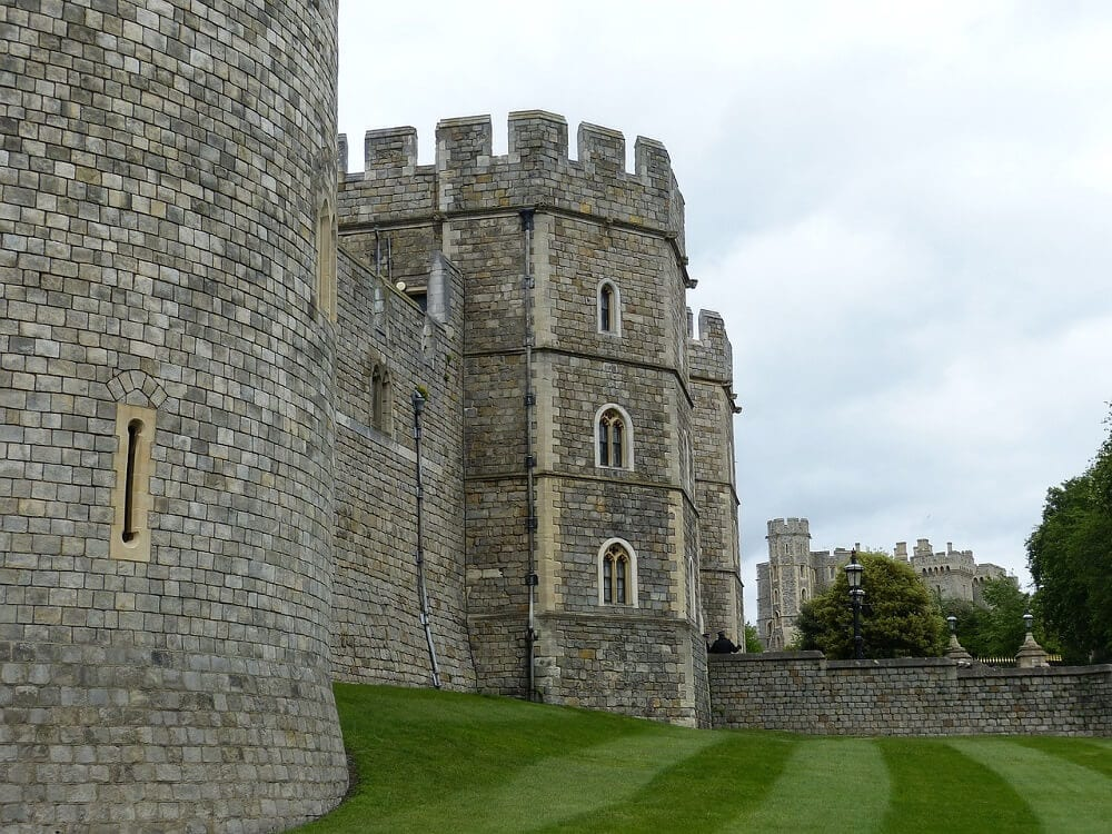 Windsor Castle is one of the best day trips from London in the winter