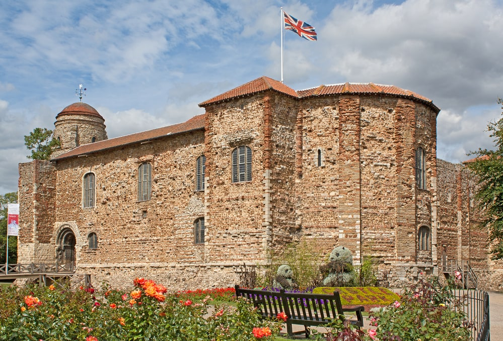 Colchester Castle in Essex, perfect day trip from Norwich