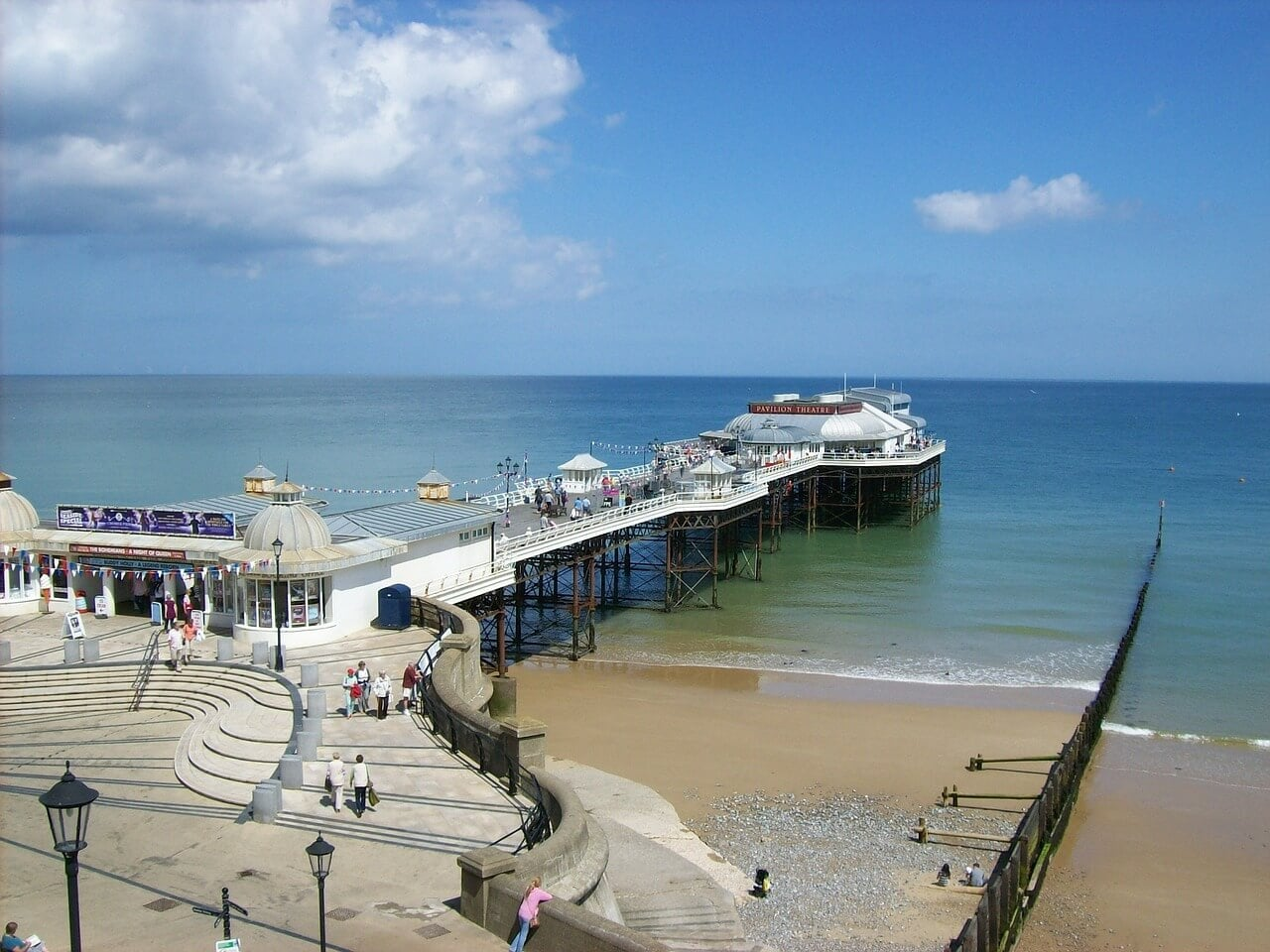 cromer pier on the north norfolk coast