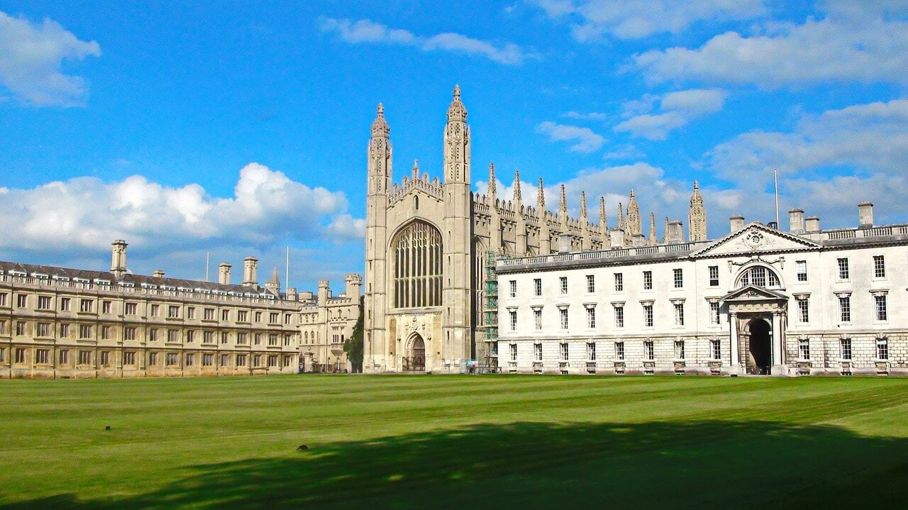 kings college in Cambridge England