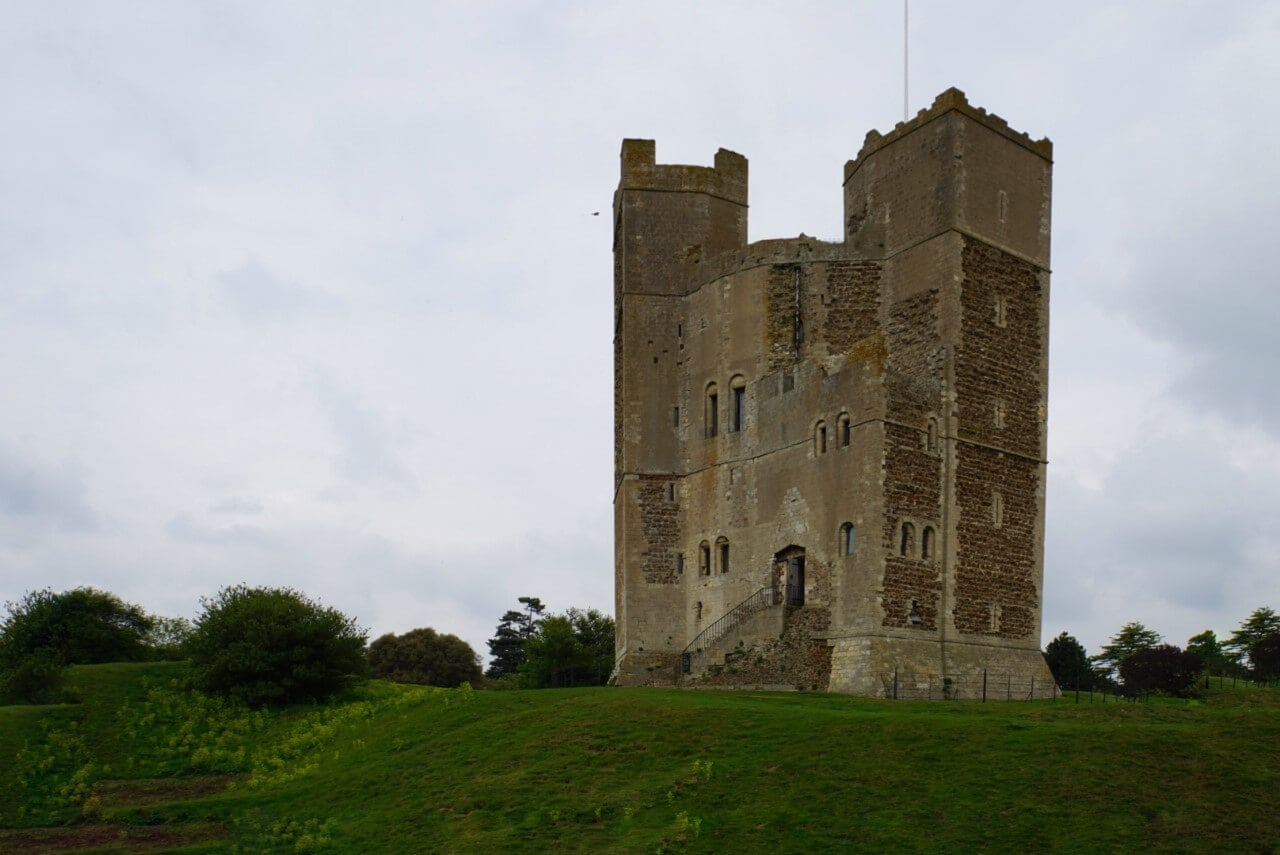 Orford Castle in Suffolk