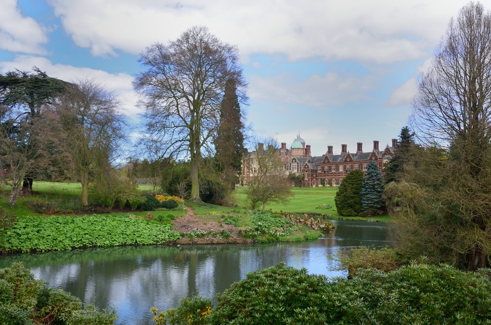 sandringham house in norfolk