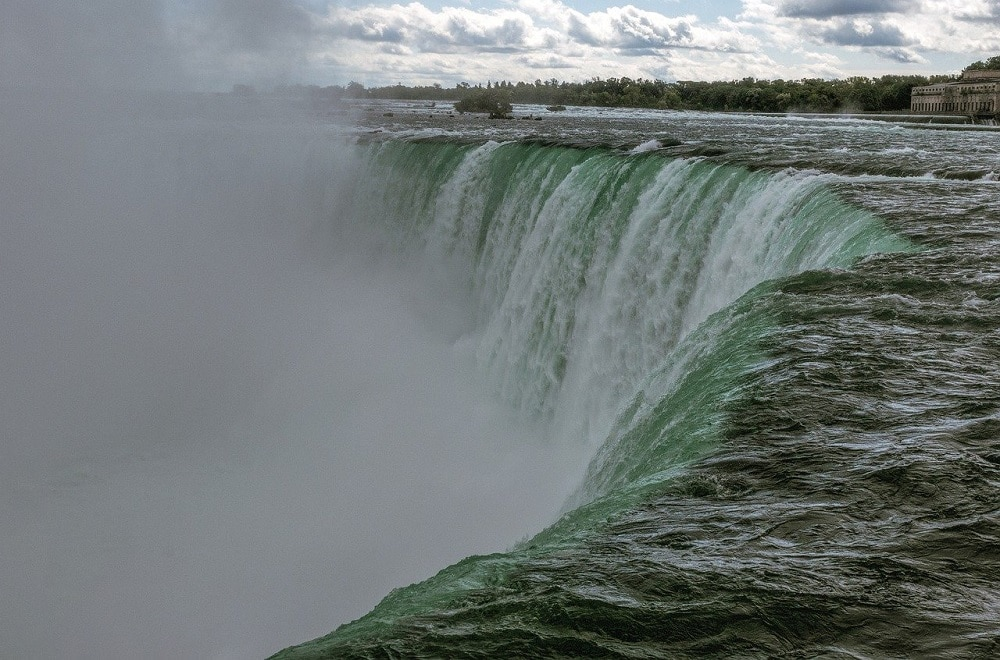Canadian Falls in Niagara Falls