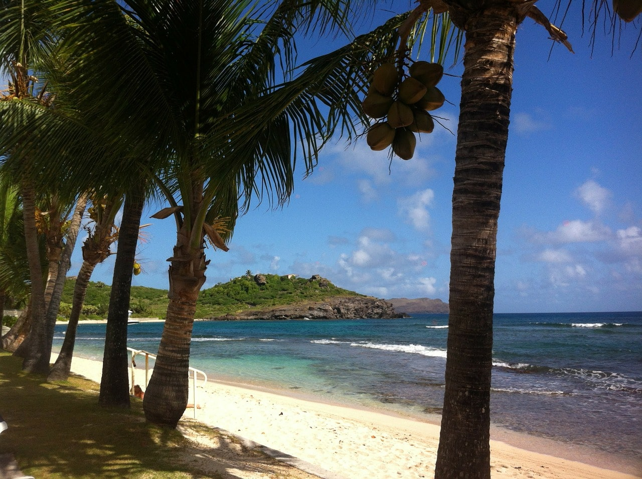 Shell Beach on St. Barts