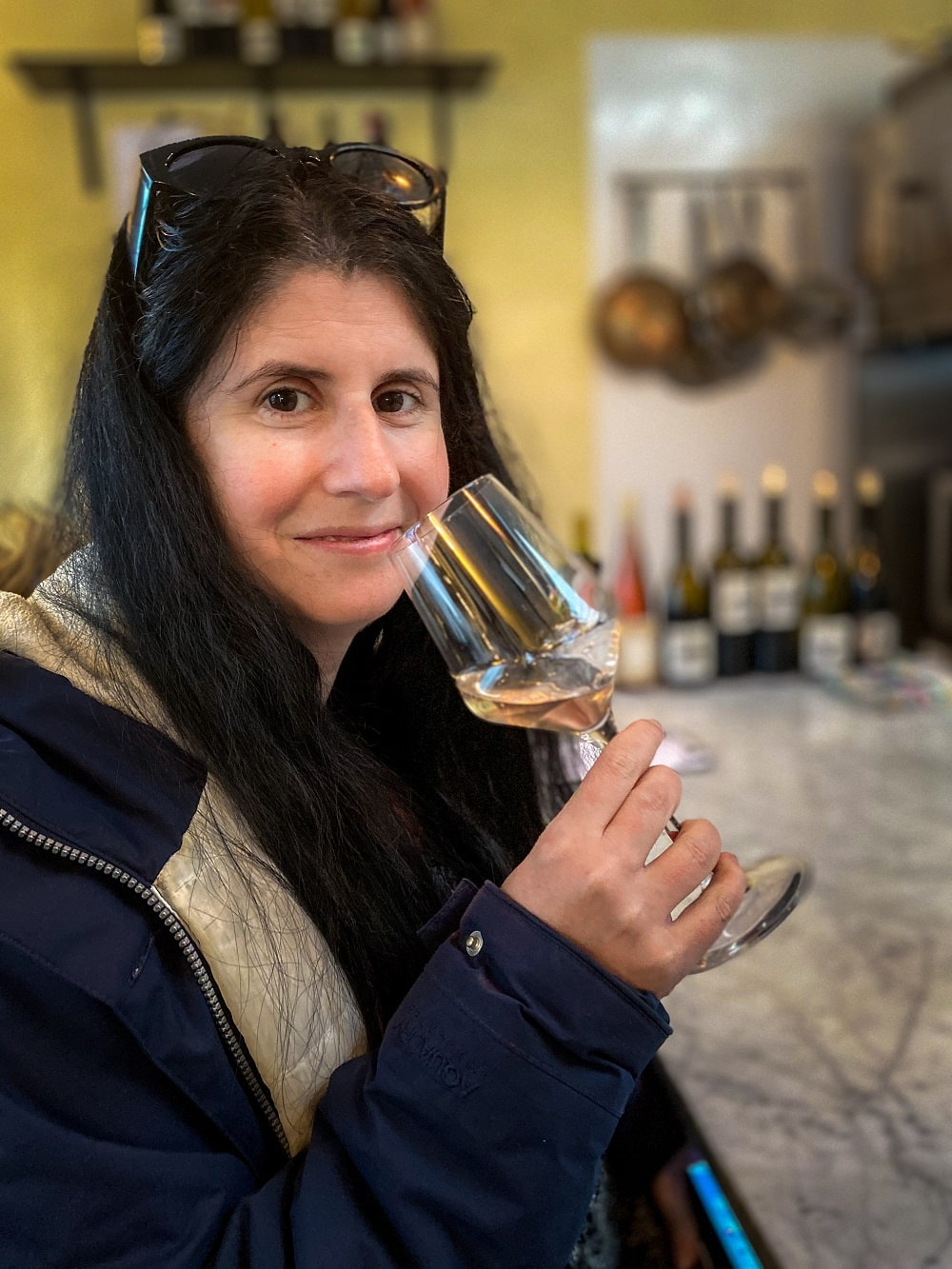 Anisa wine-tasting at Prima Materia