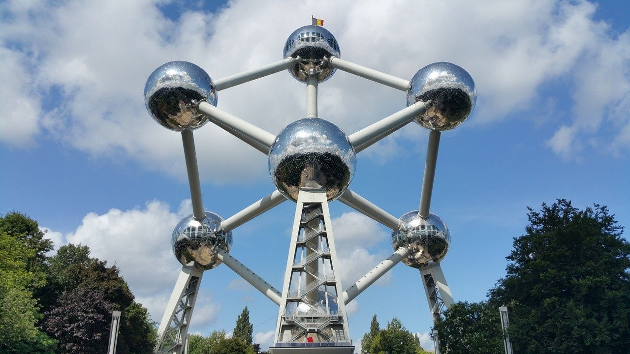 the atomium is one of the reasons to visit brussels