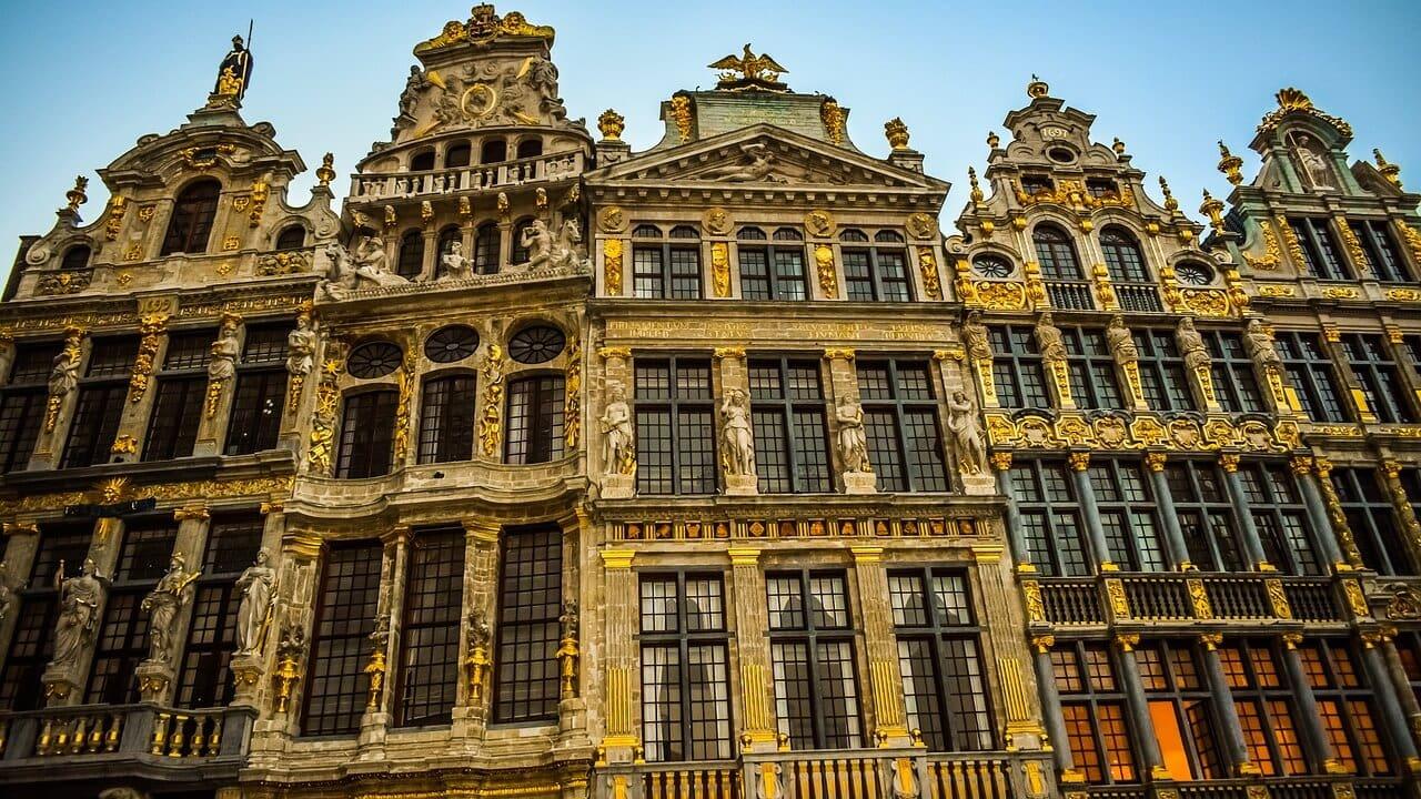 brussels buildings