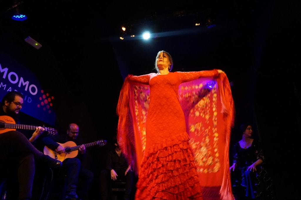 Flamenco dancer in Madrid
