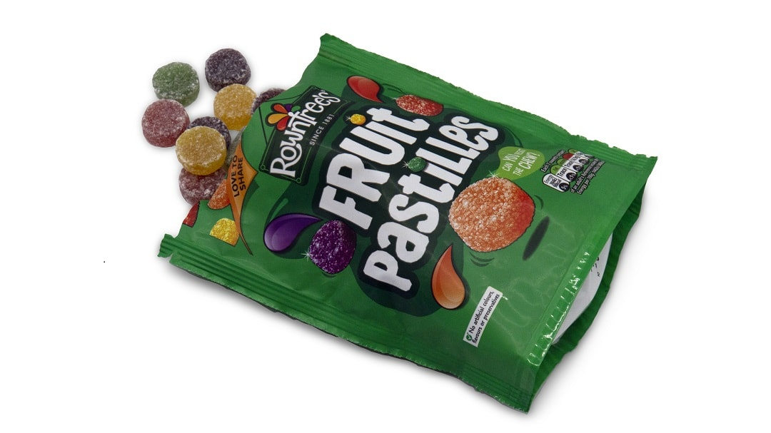 fruit pastilles a traditional british sweet