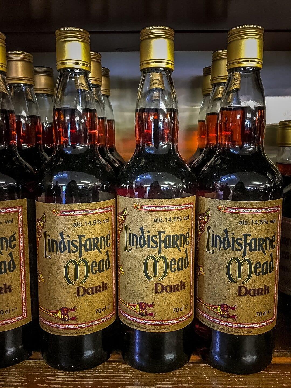 bottles of Lindisfarne Mead