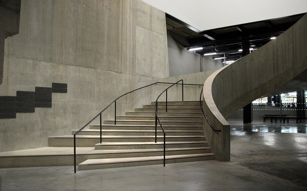 inside the Tate Modern Museum in London
