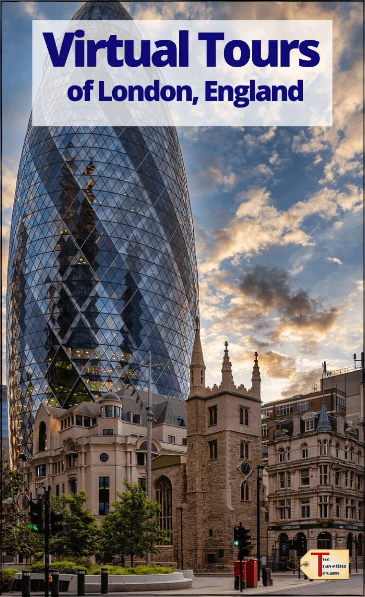 pin for virtual tours of London