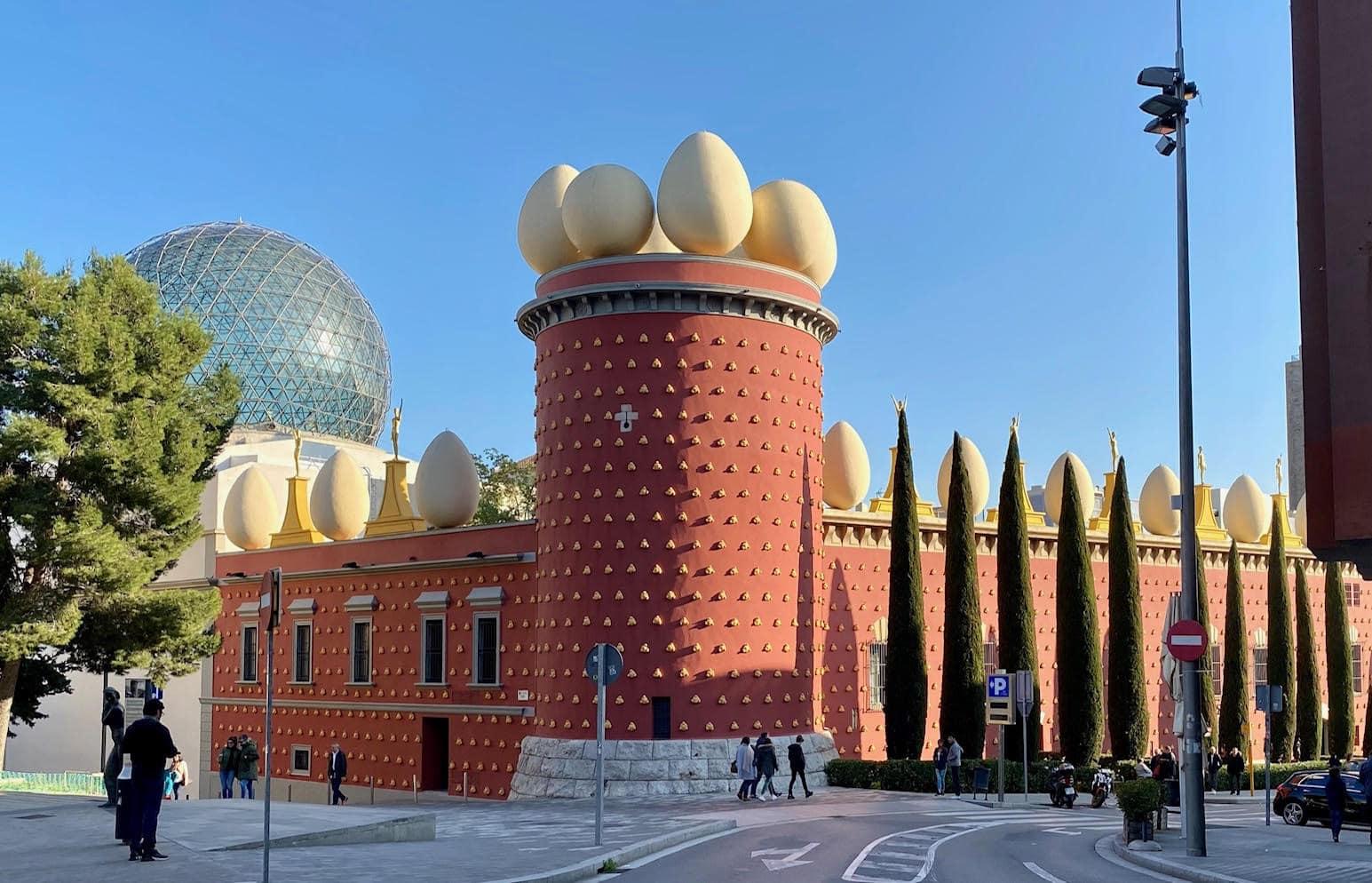exterior of Dali Museum