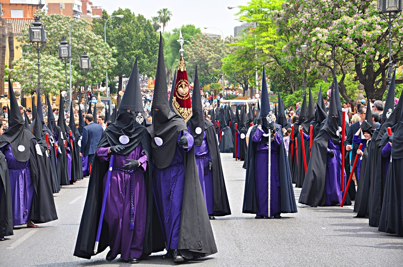 Easter celebrations in Seville Spain
