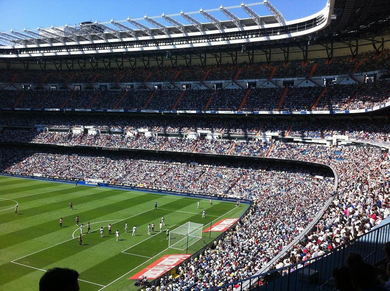 madrid football stadium