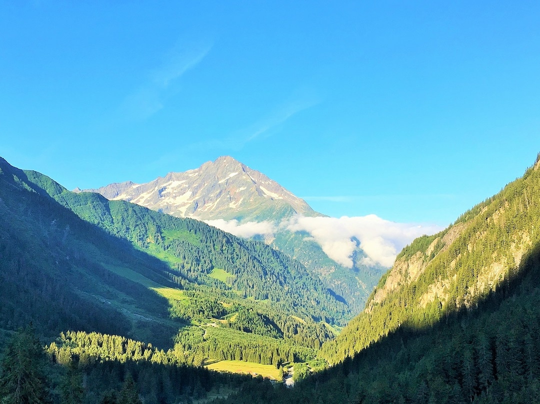 Maderanertal valley, a gorgeous area for hiking in Switzerland