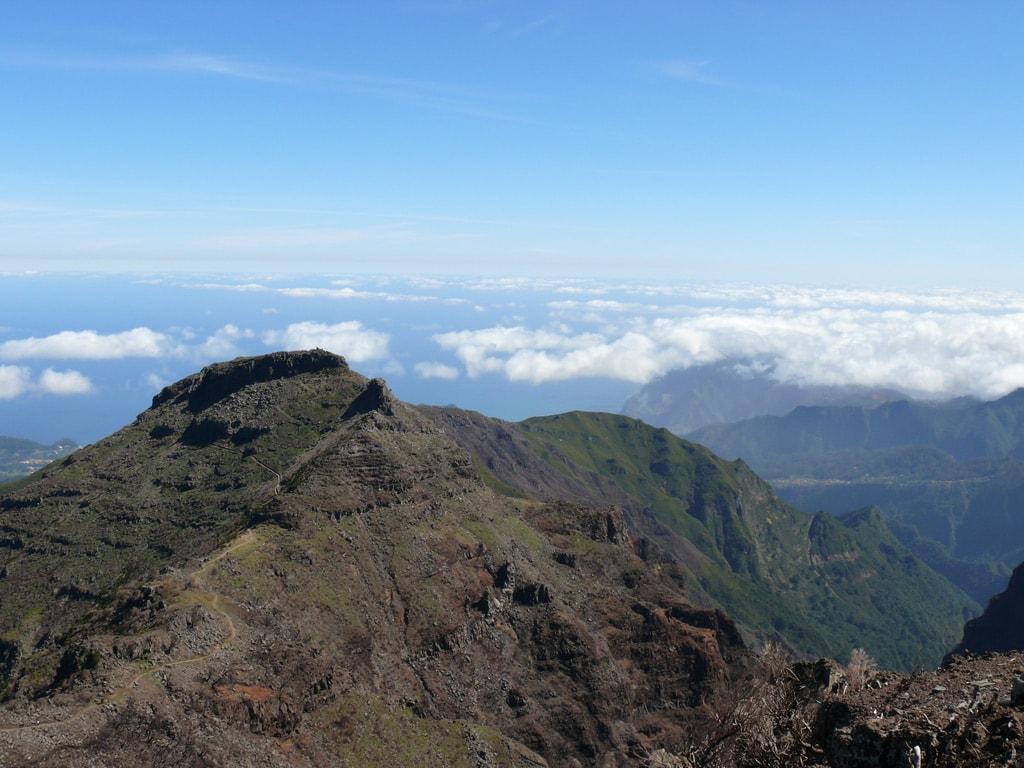 Summit Pico Ruivo in Madeira Portugal