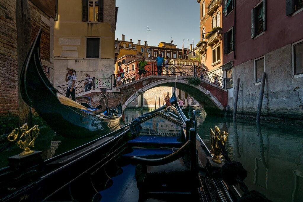 gondolas and bridges
