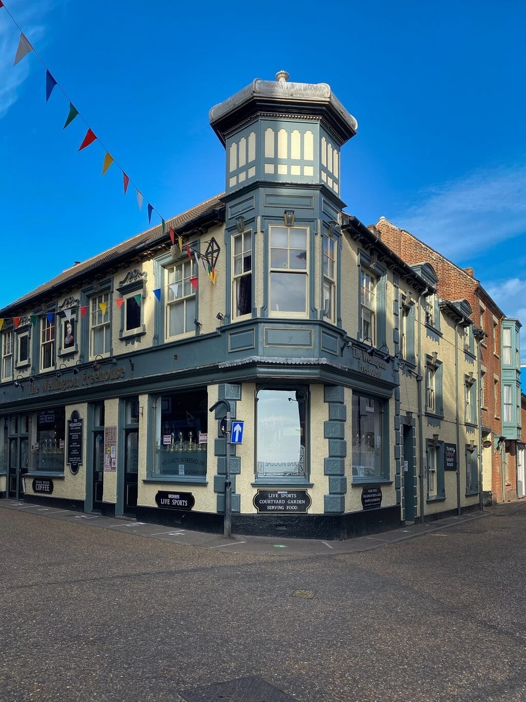 the wellington pub in Cromer