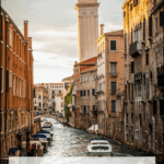 "canal in Venice Italy with text overlay ""Is Venice Italy Worth Visiting"""