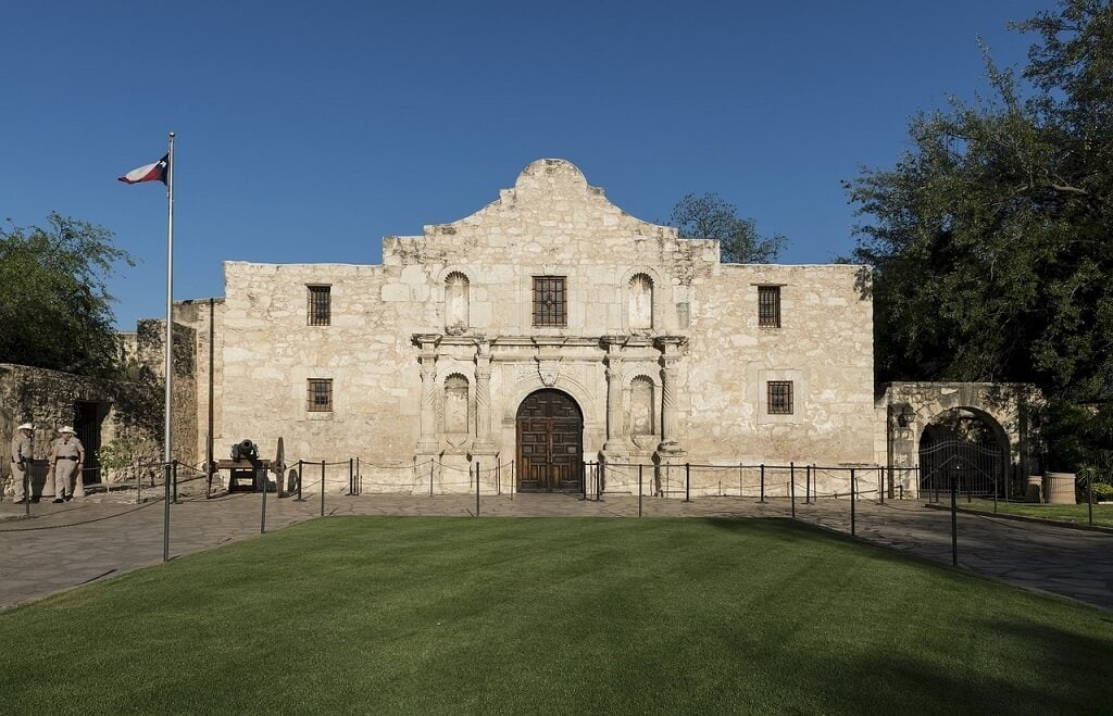 alamo in san antonio texas