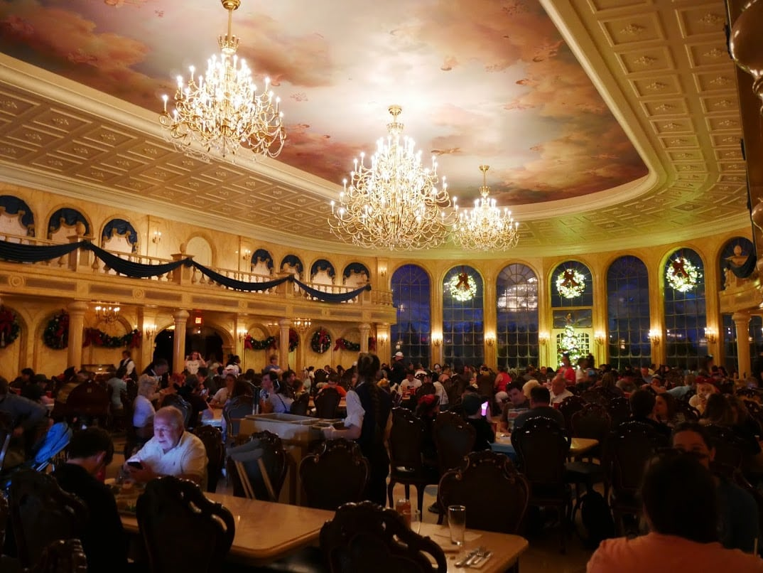 restaurant at Disney World