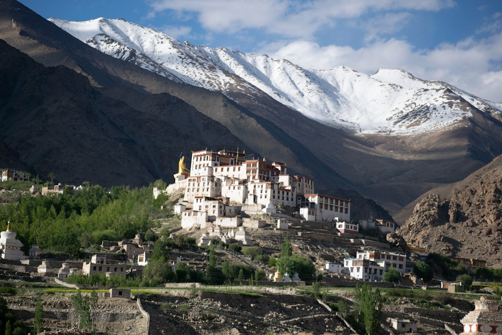mountains in Ladakh in India