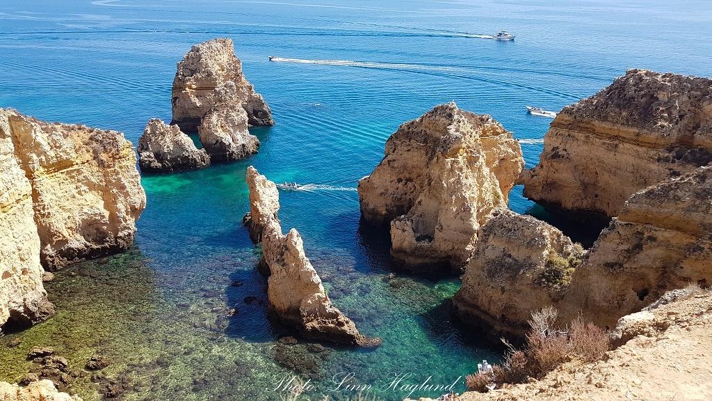 Ponta da Piedade in the Algarve in Portugal