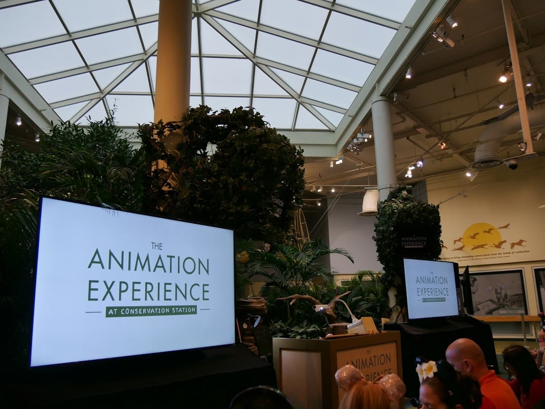 the animation experience show at disney world