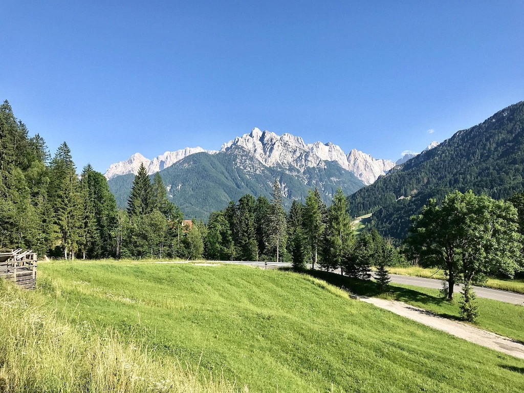 scene from a Balkan road trip