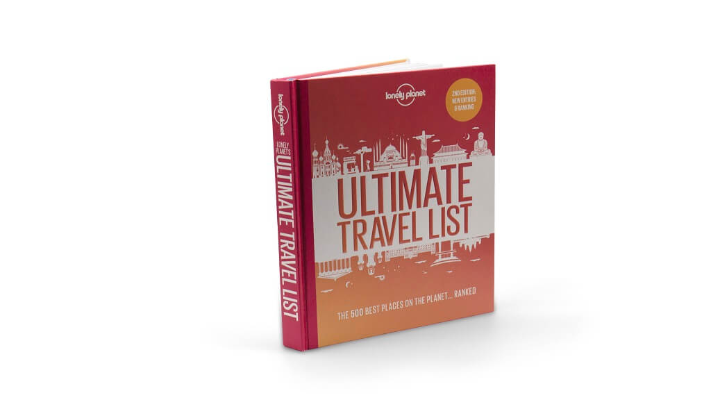 The Ultimate Travel List Book, 2nd Edition from Lonely Planet