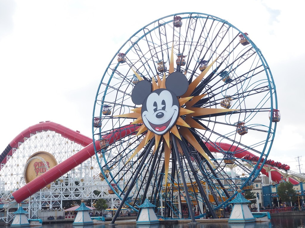 rides at California Adventure