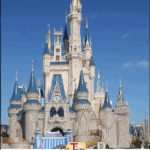 disneyland castle with text overlay: disneyland mistakes to avoid