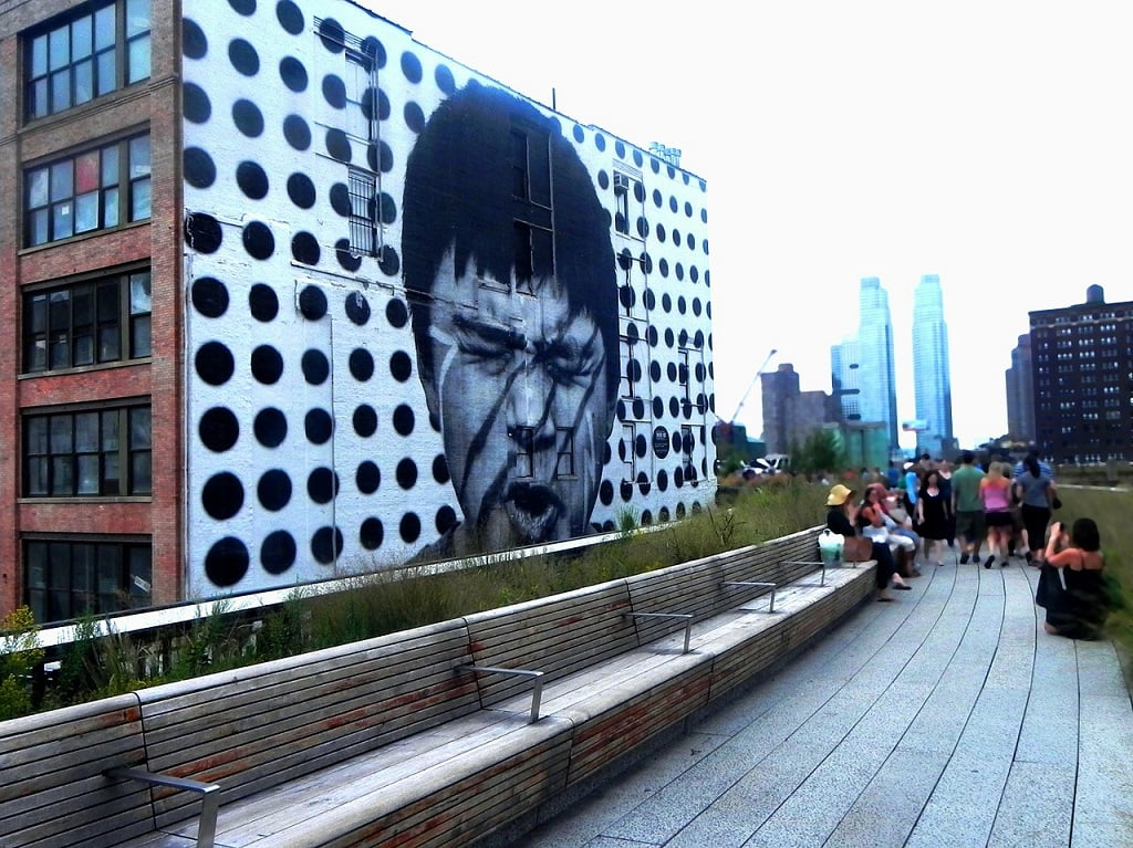 highline park in nyc