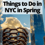 "the vessel in manahattan with text overlay ""the 17 best things to do in NYC in Spring"""