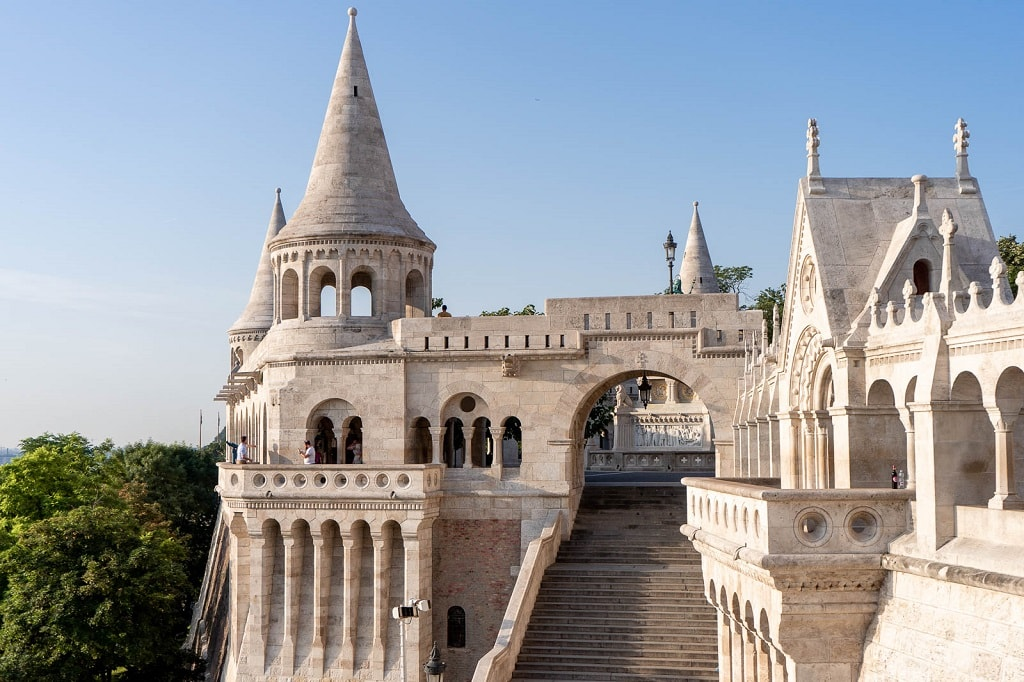 Fisherman Bastion, one of the most romantic spots in Budapest in Budapest