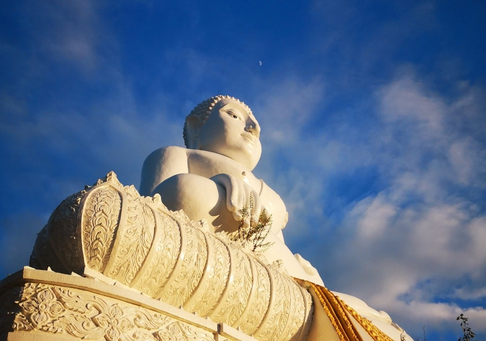 The Big Buddha in Pai Thailand