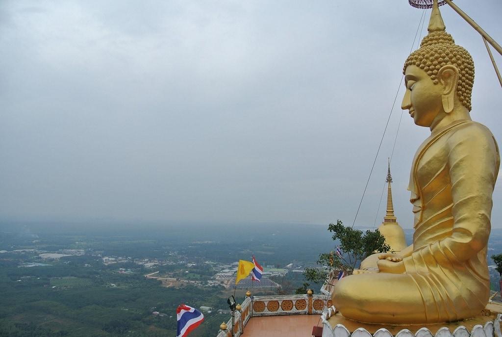 Wat Tham Sua aka tiger cave temple in Krabi Thailand