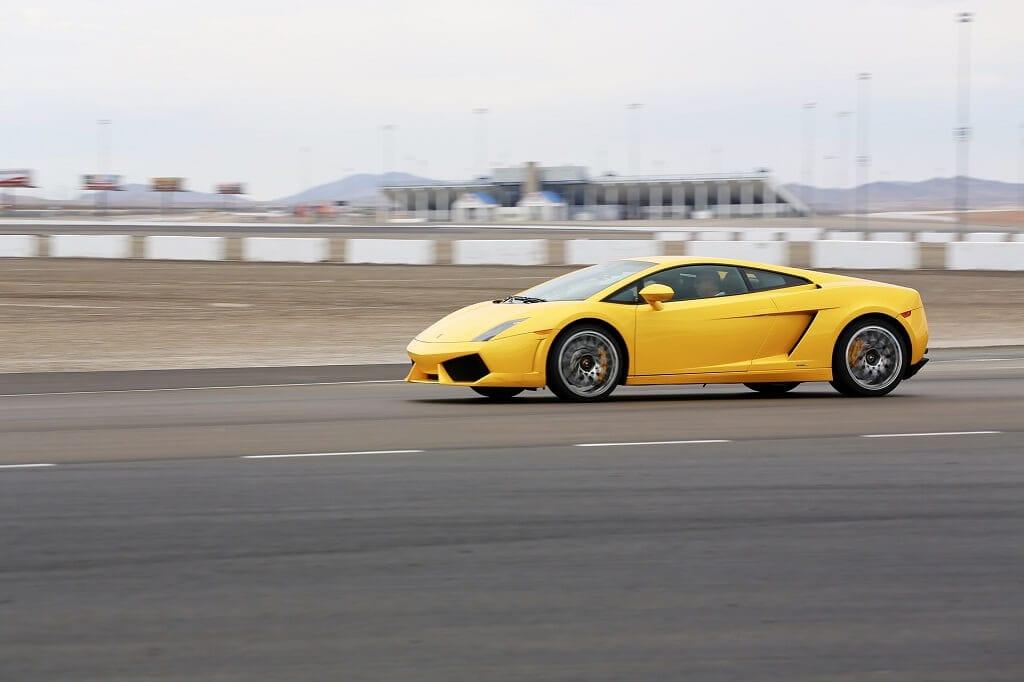 race car in vegas