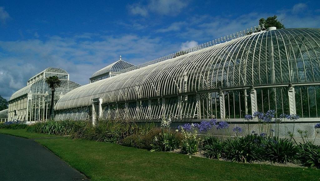 glasshouse at National Botantic Garden near Dublin