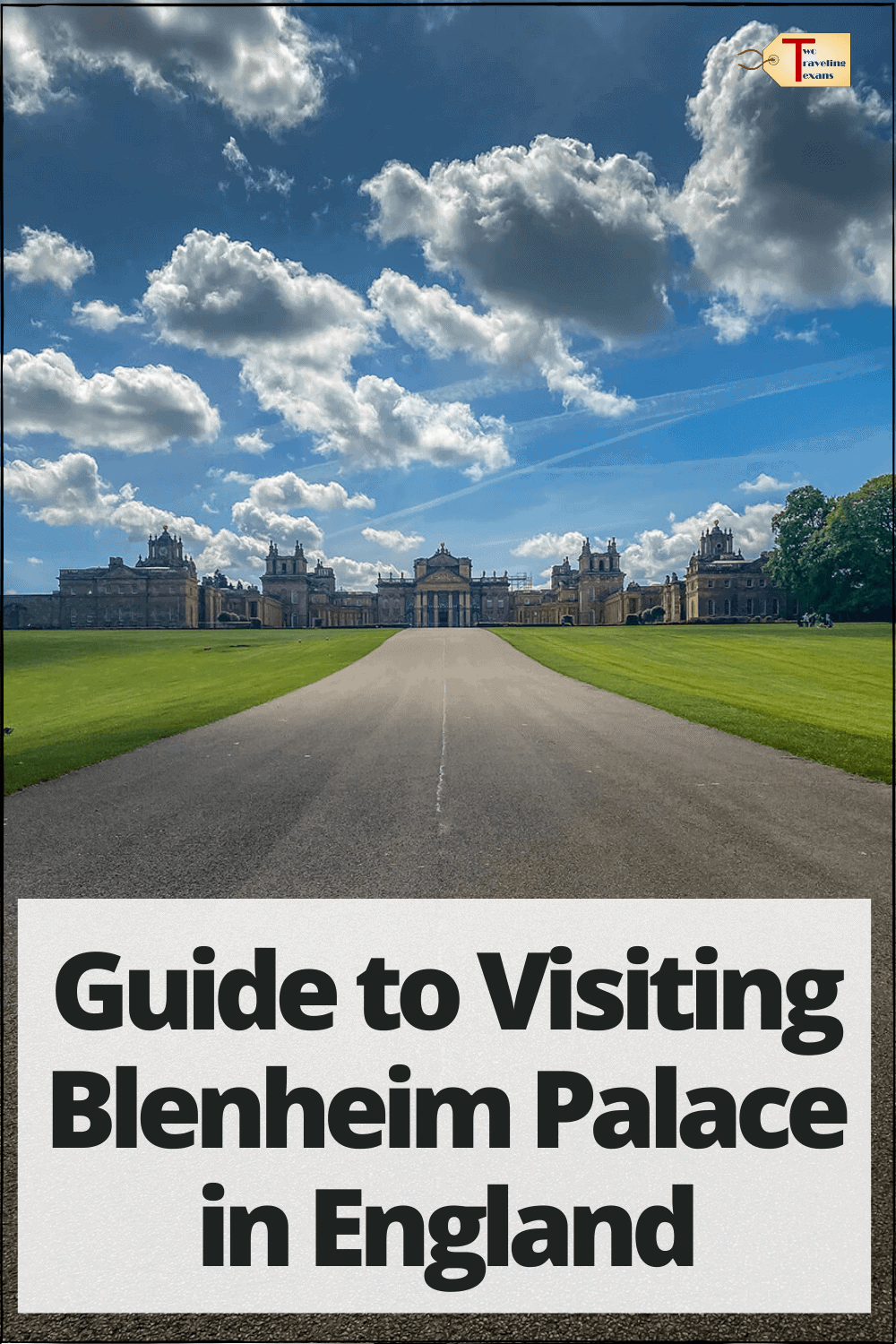 view of blenheim palace in england