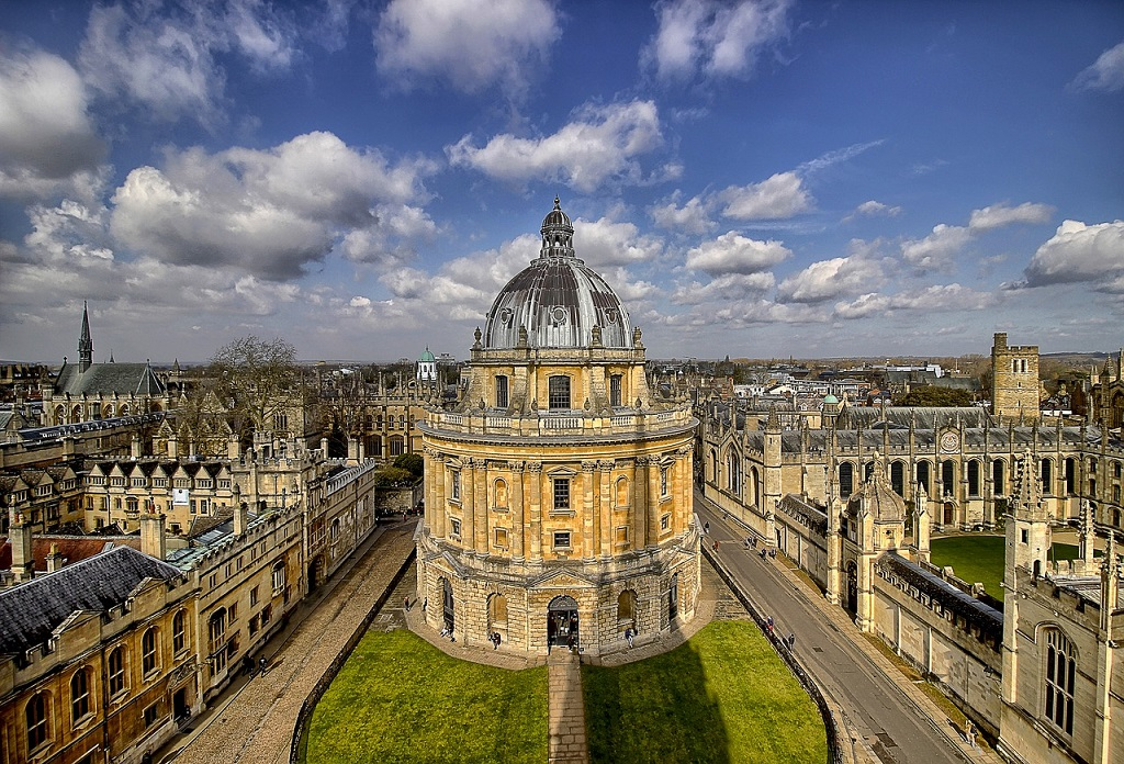 Bodleian library in oxford england