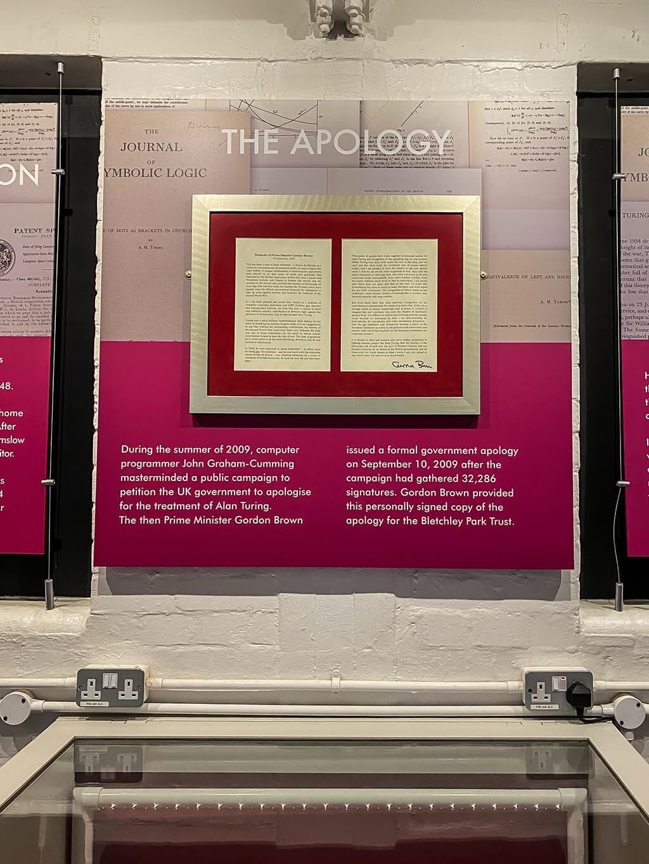 Gordon Brown's apology to Alan Turing